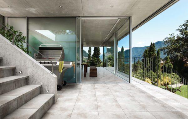 casa moderna interno esterno