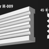 front-molding-м-009