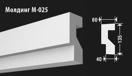 front-molding-м-025