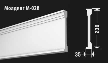 front-molding-м-028