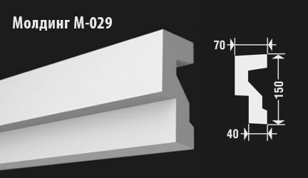 front-molding-м-029