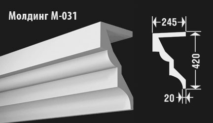 front-molding-м-031