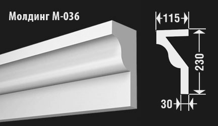 front-molding-м-036