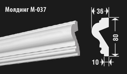 front-molding-м-037