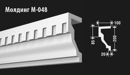 front-molding-м-048