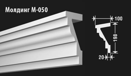 front-molding-м-050