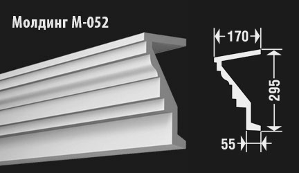 front-molding-м-052