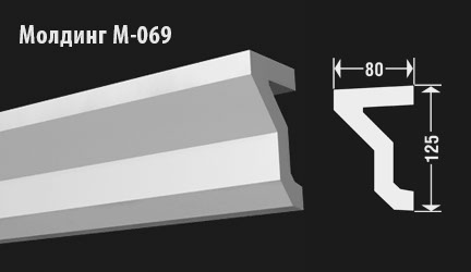 front-molding-м-069