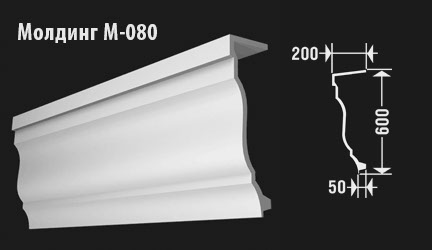 front-molding-м-080