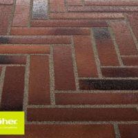 124 тротуарная плитка Stroeher.240х52х18
