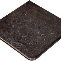 Ступень угловая Metalica Cartabon Fior. Basalt 33.5x33