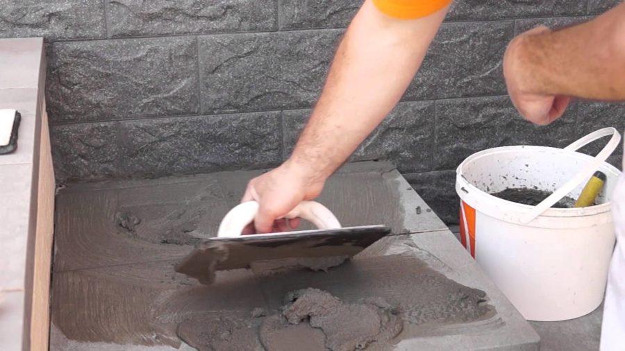 Материалы для монтажа плитки и ступеней