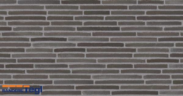 RT 150 кирпич Randers Tegl кладка со смещением шов серый