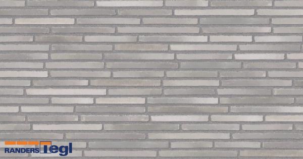 RT 153 кирпич Randers Tegl кладка со смещением шов серый