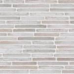 RT 154 кирпич Randers Tegl кладка со смещением шов алебастрово-белый
