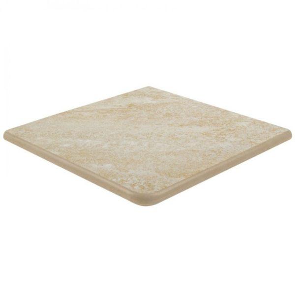 Petra Cartabón fiorentino 33x33x3cm Bone